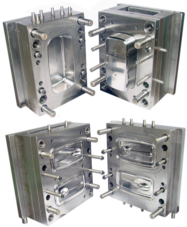 Plastic Injection Mold Manifold Plate